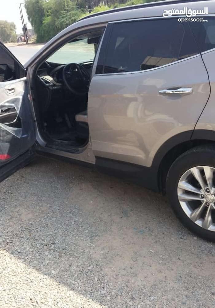 Beige Hyundai Santa Fe 2017 for sale
