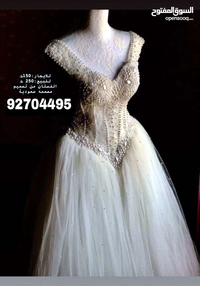فستان. جديد للاعراس