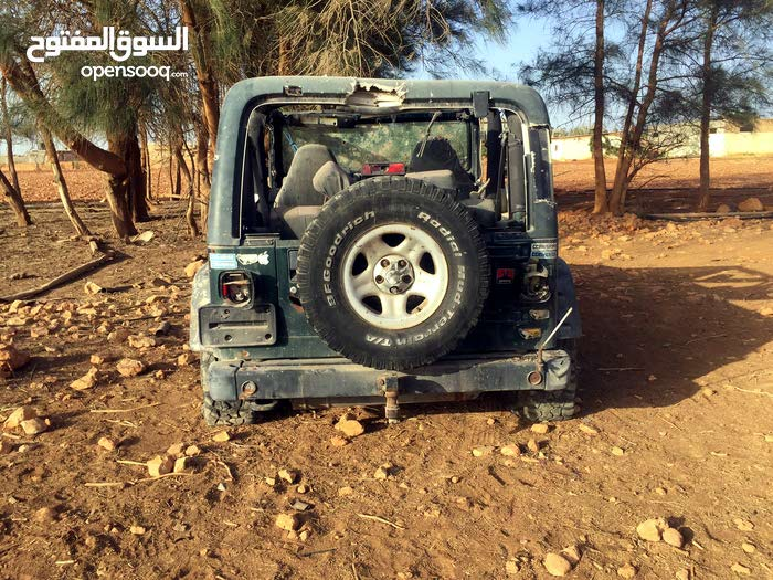 Jeep Wrangler Used in Benghazi