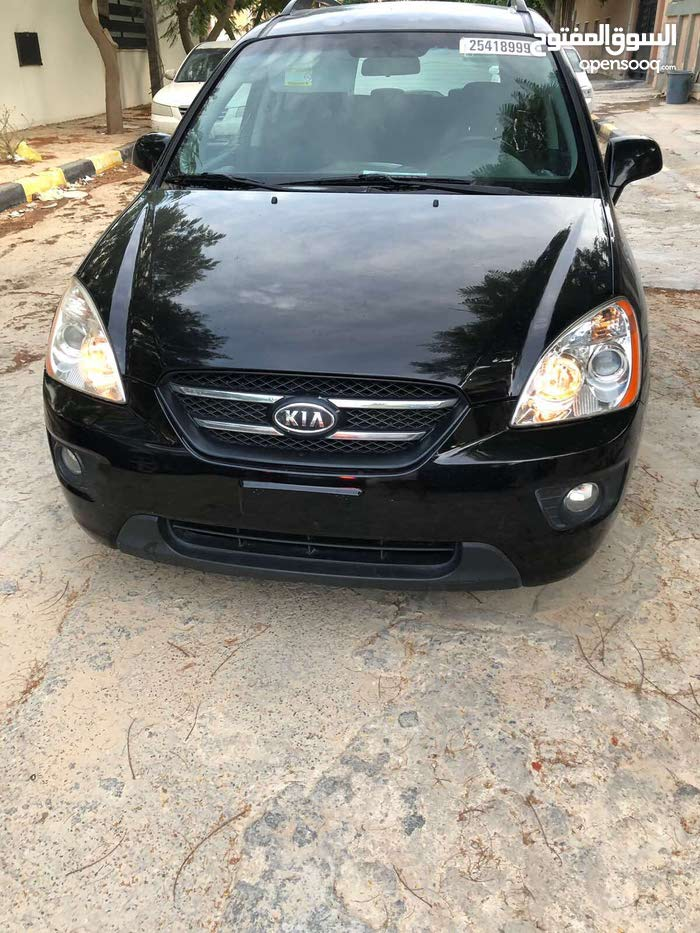 Black Kia Carens 2009 for sale