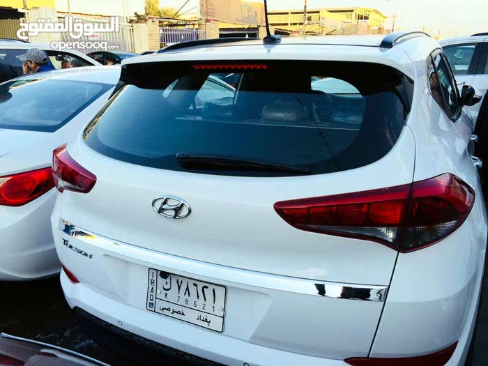 Used condition Hyundai Tucson 2017 with  km mileage