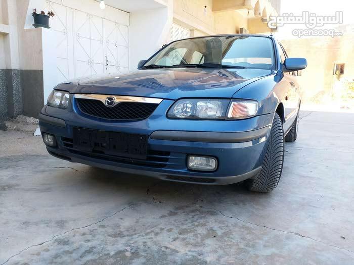 Manual Blue Mazda 1999 for sale