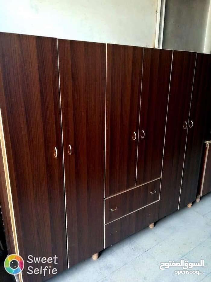 خزانة 6 أبواب طابق خشب ام دي إف