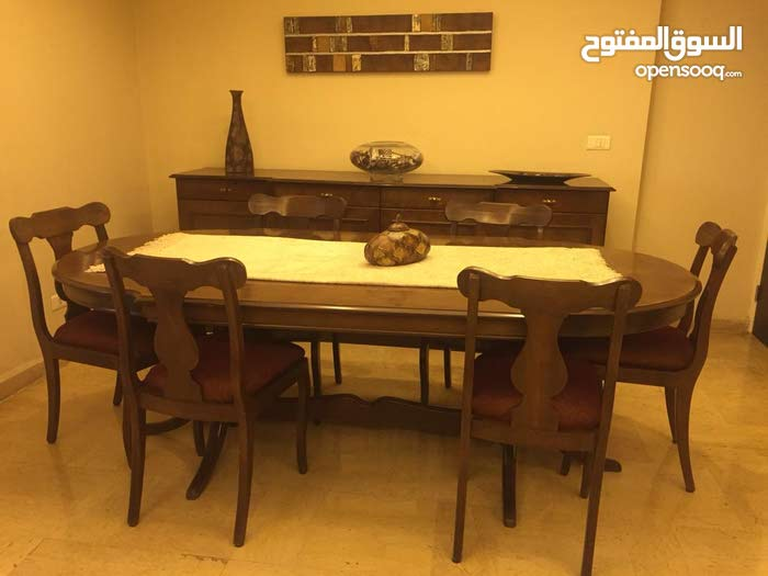 غرفة طعام خشب زين