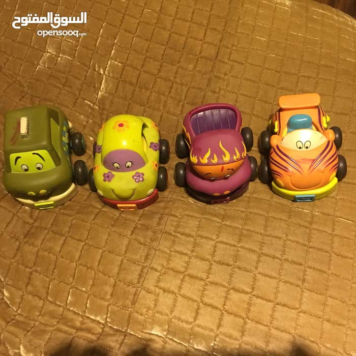 Car toy in plastic