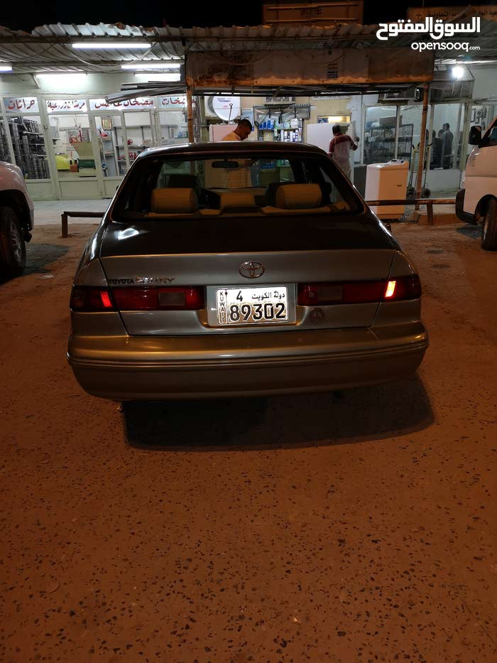 Automatic Green Toyota 2000 for sale