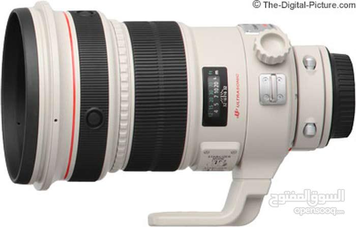 Canon Lens EF 200mm 1:2 L IS USM