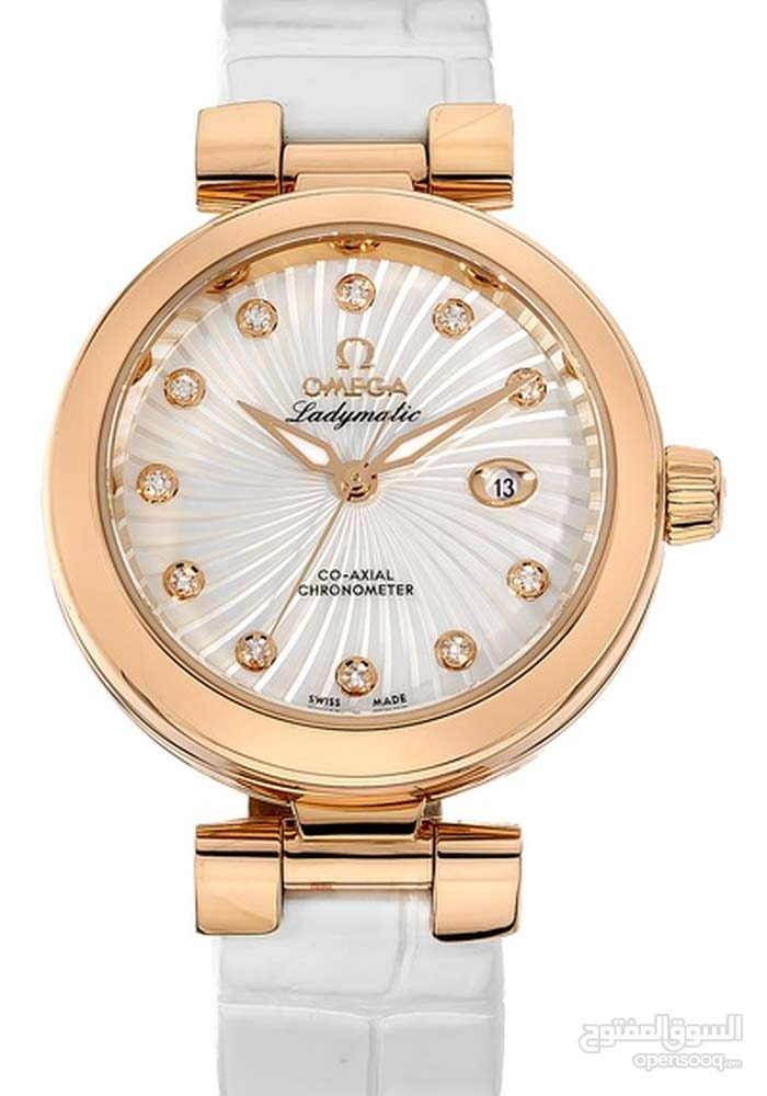 omega 18k rose gold ladymatic
