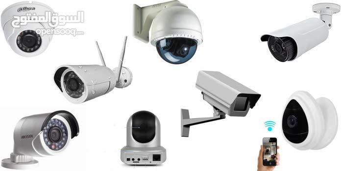 تركيب الشبكات والسيرفرات وكاميرات المراقبة