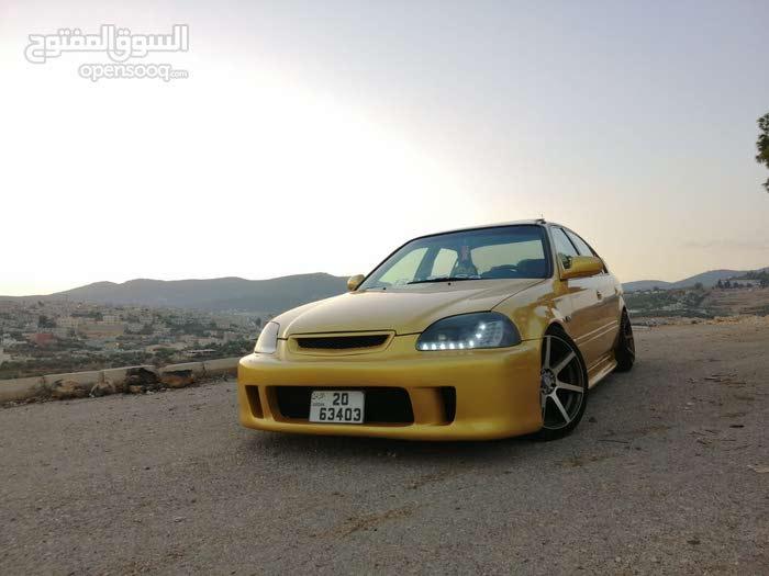 Gold Honda Civic 1998 for sale