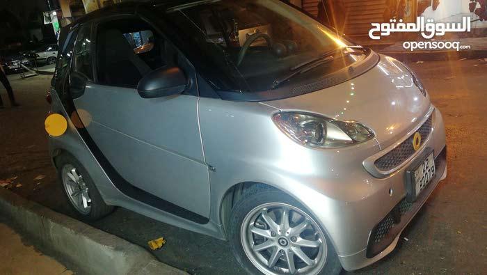 سيارات للايجار اليومي مرسيدس سمارت 2014 كهربائية