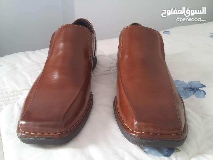 حذاء رسمي لون بني جودة عالية