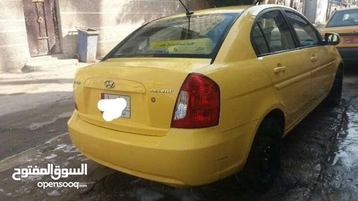 Hyundai Accent 2010 For sale - Yellow color