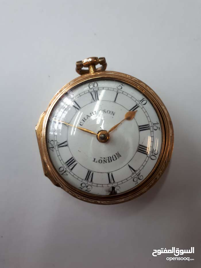 ساعه انتيك عام 1779 من London ذهب 22