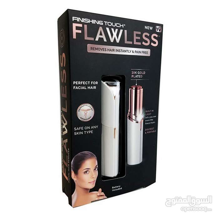 جهاز فلوليس لإزالة شعر الوجه والجسم FLAWLESS