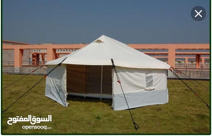 خيمة زعترية بوكالتها غير مستخدمة نهائيآ