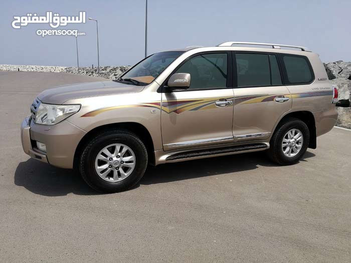 Gold Toyota Land Cruiser 2011 for sale