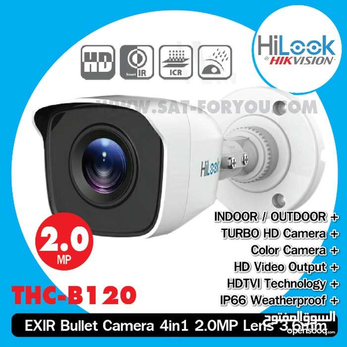 نظام كاميرات مراقبة كامل متكون من 4كاميرات من HILOOK BY HIKVISION