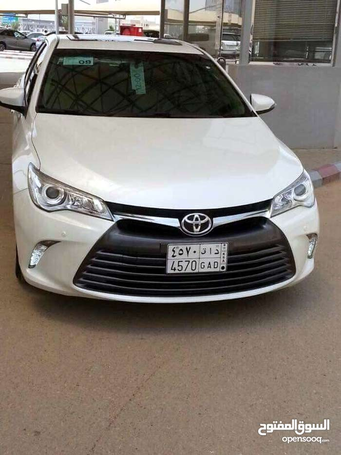 Toyota Camry 2017 For sale - White color