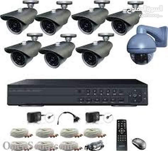 تركيب كاميرات مراقبة و أجهزة الانذار