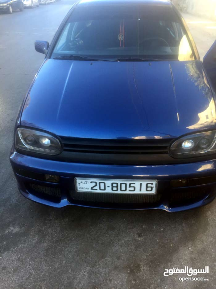 Used Volkswagen Golf for sale in Amman