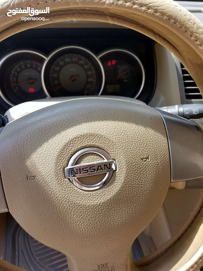 Nissan Tiida 2008 For sale - Black color