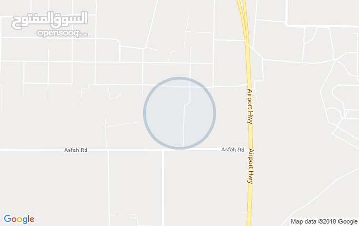 قطعة ارض في طريق المطار  طريق الملاهي