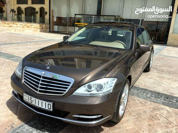 For sale Mercedes Benz S 400 car in Amman