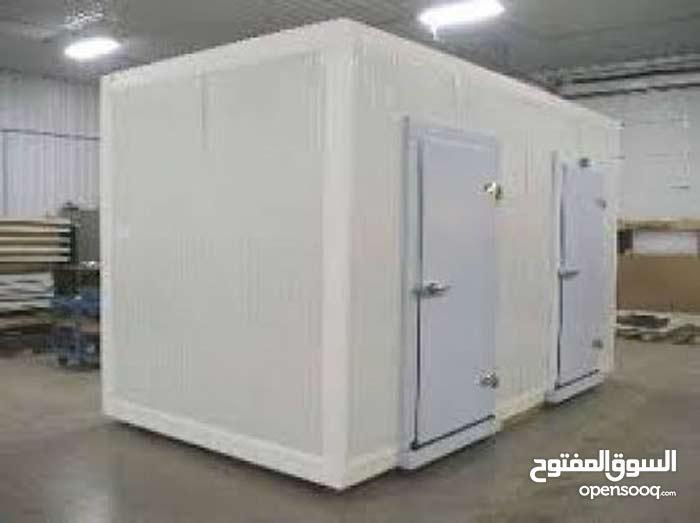 غرفة تجميد وتبريد 5 حصان ( كاملة ) مساحتها 3 متر فى 2 ونصف الاتصال : 01115555768