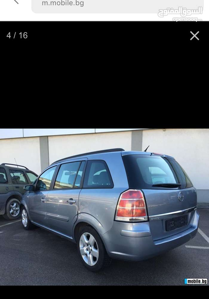Used Opel Zafira for sale in Tripoli
