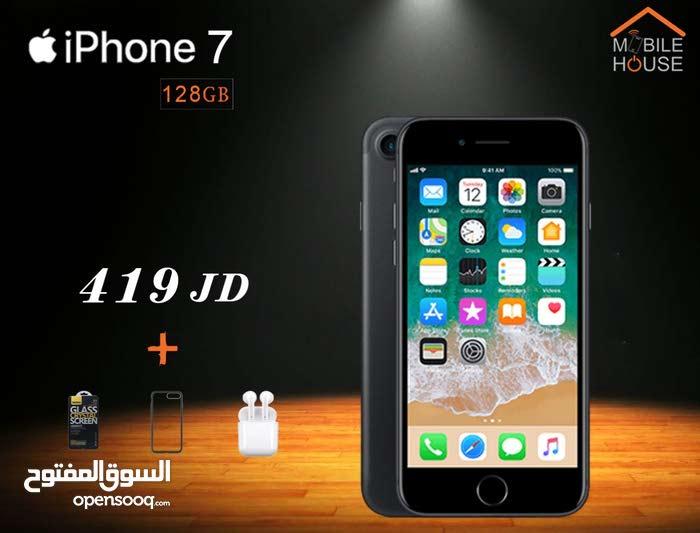 ايفون 7 جديد مسكر - كفالة apple + كفالة Mobile house