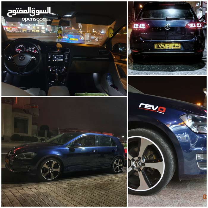 Volkswagen Golf 2014 For sale - Blue color - (106726044) | Opensooq