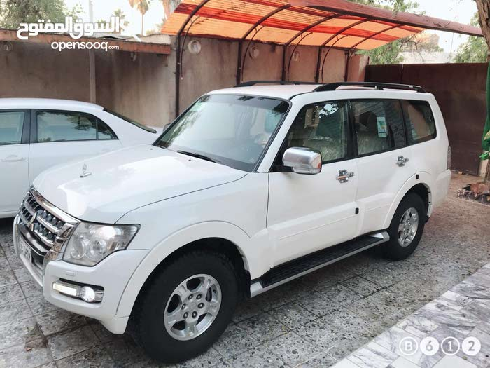Mitsubishi Pajero in Baghdad