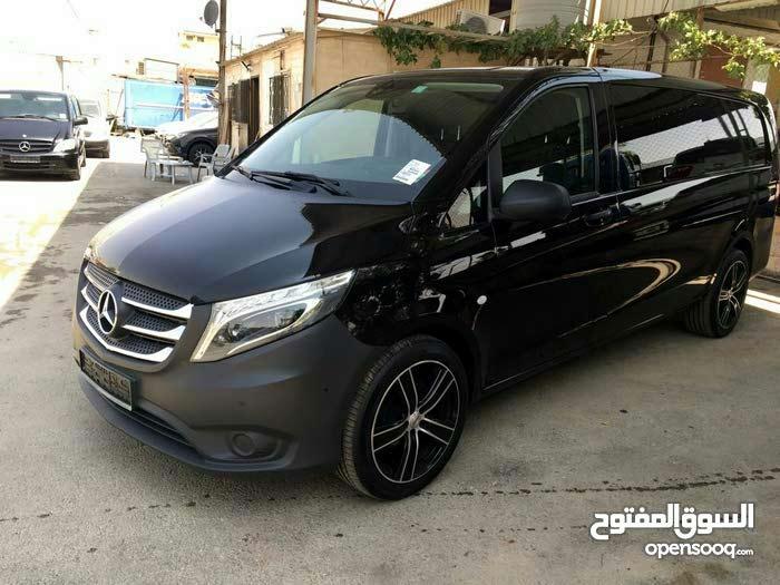 For rent a Mercedes Benz Vito 2017