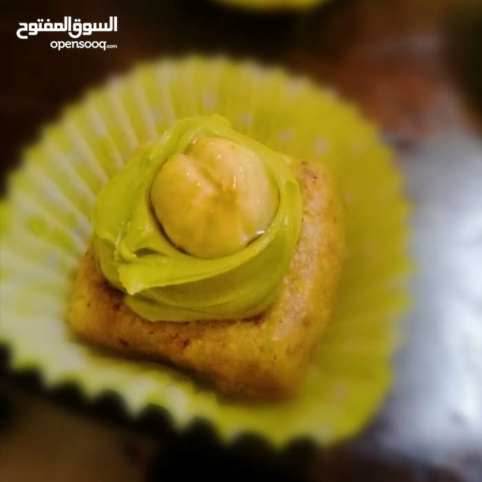 Pistachio حلويات بالفستق لاول مرة في سلطنه