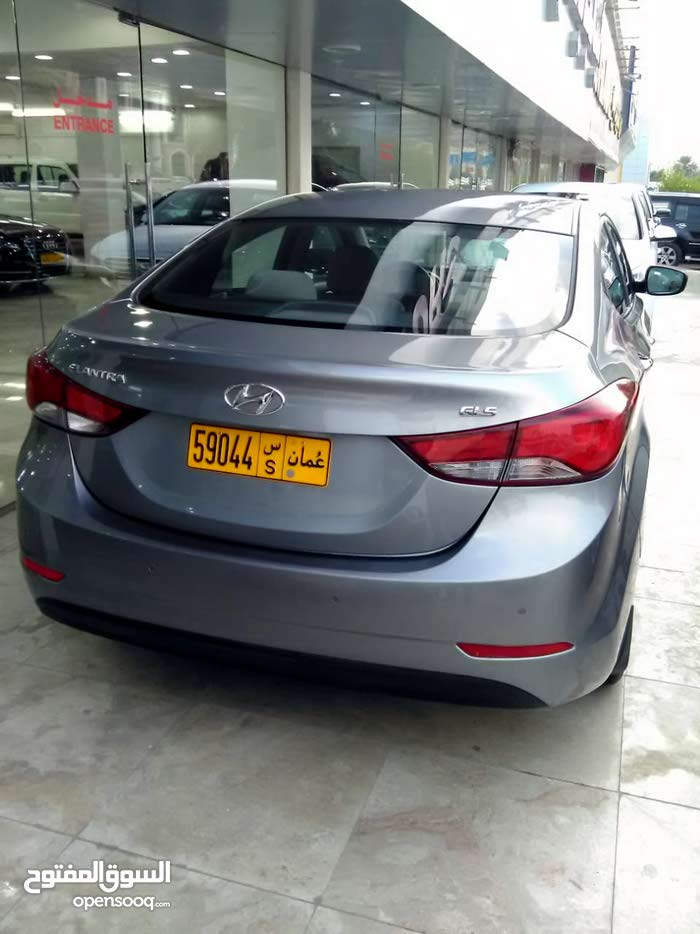 Hyundai Elantra car for sale 2015 in Muscat city