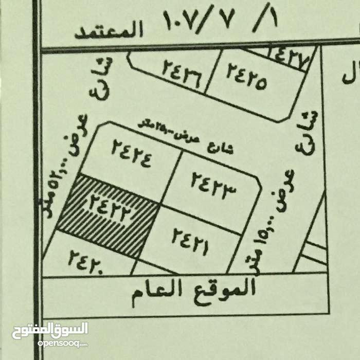 للإيجار أرضين متلاصقتين على شارعين ش 52 ش 25 بولي العهد مكة