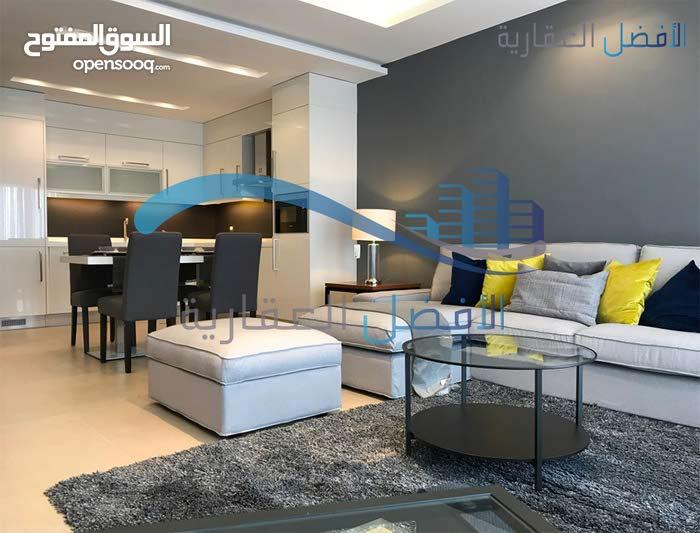 شقة استثمارية مفروشة للايجار ذو تصميم عصري في عبدون