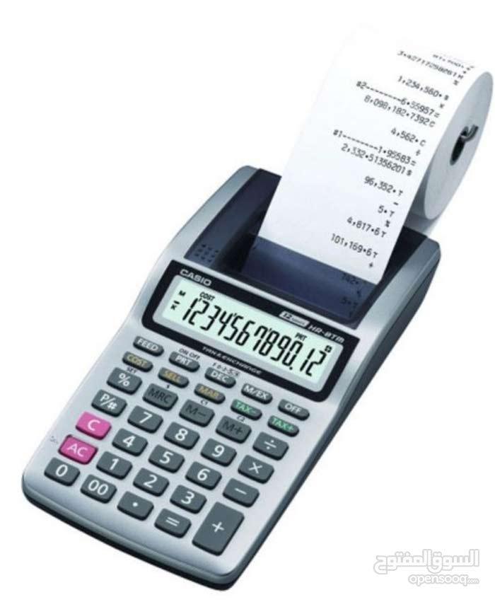 آلة حاسبة كاسيو بطابعة