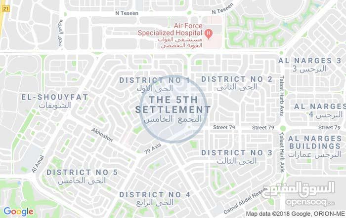 امتلك ارض في التجمع الخامس بيت الوطن الحي الثالث