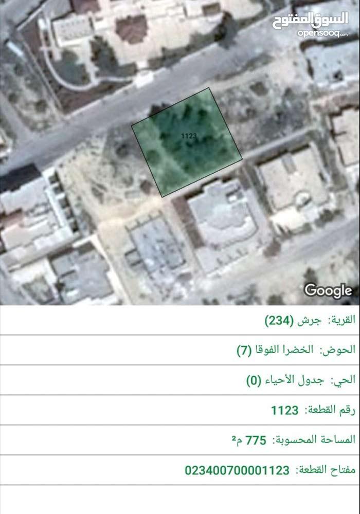 جرش الخضرا الفوقا مقابل جرش مول وخلف كازية الكنجي