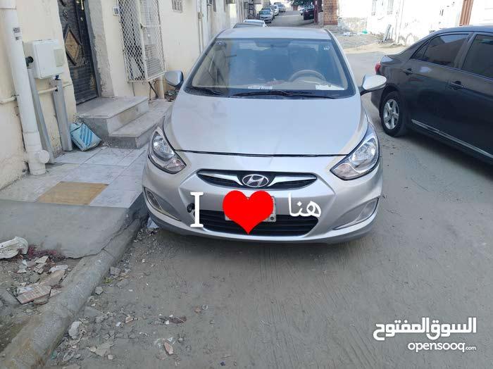 Silver Hyundai Accent 2012 for sale