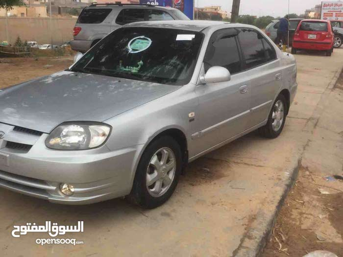 Hyundai Verna 2005 For sale - Grey color