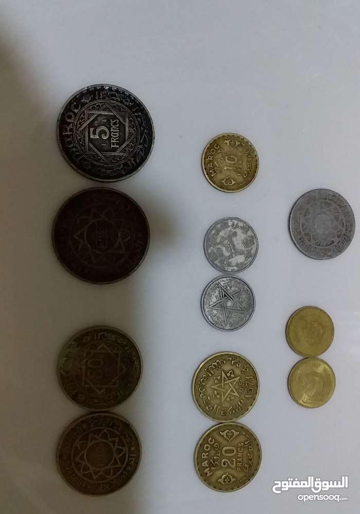 عملات نقدية مغربية قديمة