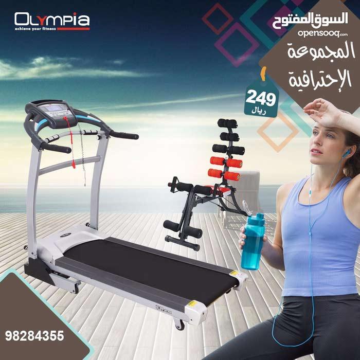 المجموعة الاحترافية سير مع جهاز شد البطن