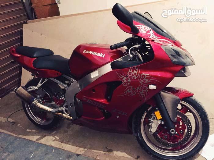 Used Kawasaki motorbike is up for sale