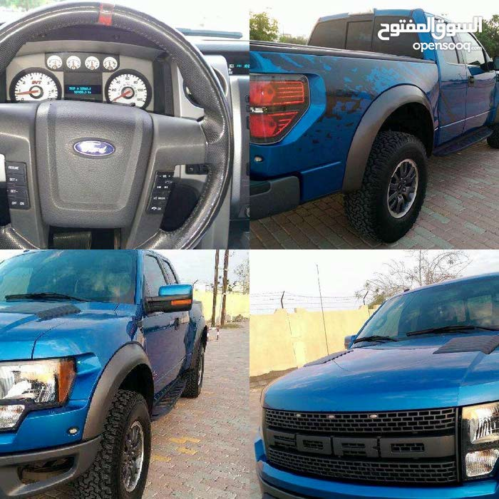 Ford F-150 2010 For sale - Blue color