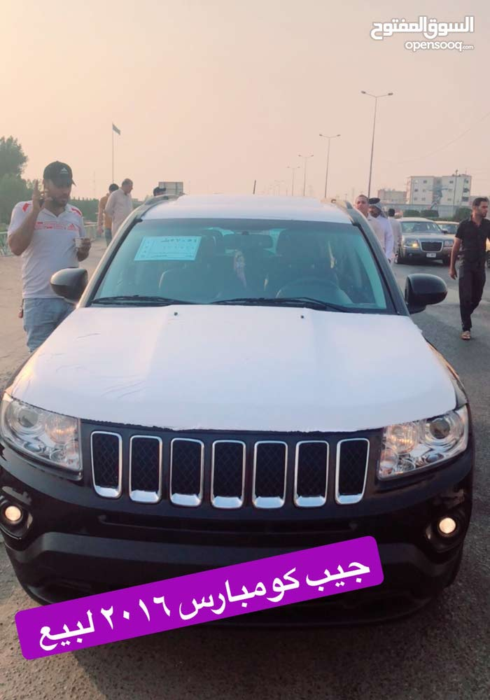 Black Jeep Compass 2016 for sale