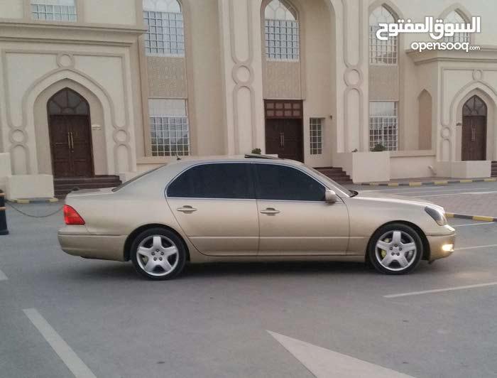 Gold Lexus LS 2001 for sale