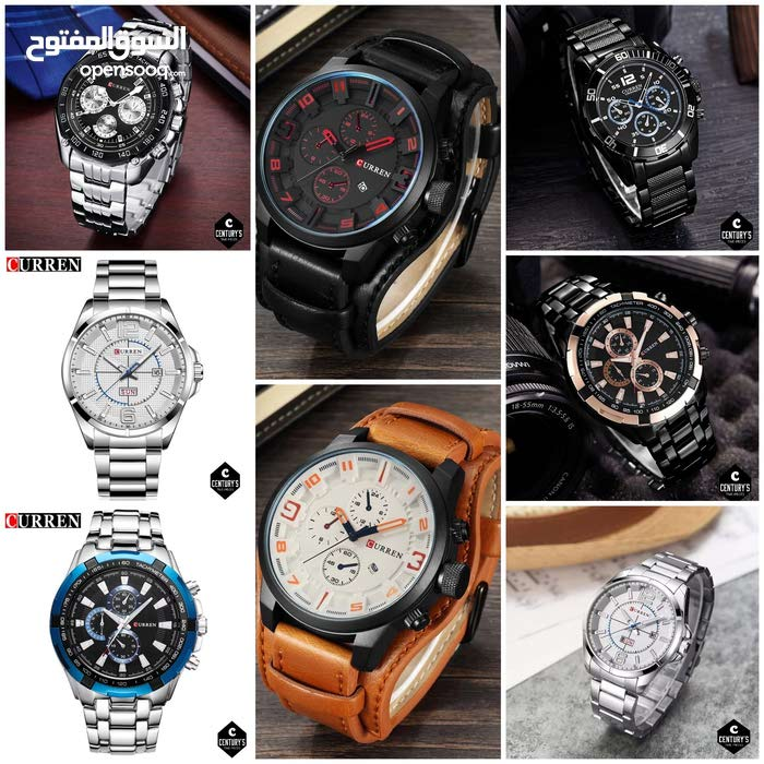 CURREN watches (Men)